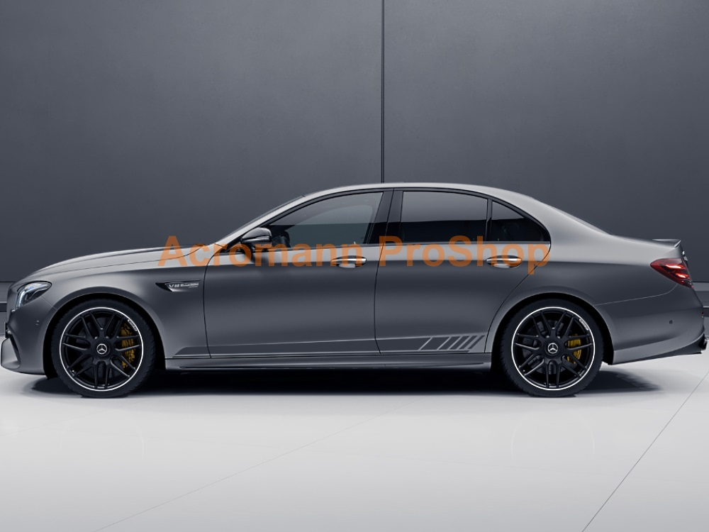 AMG W213 S213 E63s 4dr Edition1 Side Stripes Door Decals Sticker